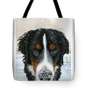 Snow Bumper Tote Bag