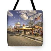 Snow Cap Cafe  Tote Bag