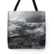 Snow Capped 45 Tote Bag