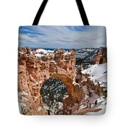 Snow Capped Arch At Bryce Tote Bag