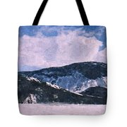 Snow Clouds - Winter - Ice Tote Bag