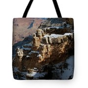 Snow Covered Grand Canyon Tote Bag