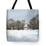 Snow Covered Guilford Tote Bag