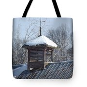 Snow Cupola Tote Bag