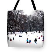 Snow Day - Fun Day Tote Bag