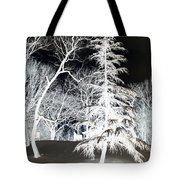 Snow Day Inverted Tote Bag