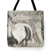 Snow Day Roundup Tote Bag