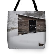 Snow Drift Tote Bag