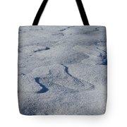 Snow Dunes Tote Bag