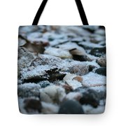 Snow Dusted Tote Bag