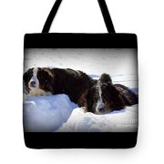 Snow Eaters Tote Bag