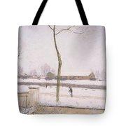 Snow Effect Effet De Neige Pastel On Paper C. 1880-1885 Tote Bag