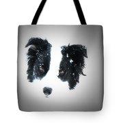 Snow Face Tote Bag