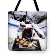 Snow Flake And Colette Winter Snow Lunch Tote Bag