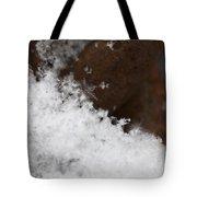 Snow Flake Tote Bag