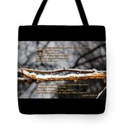 Snow From Heaven Tote Bag
