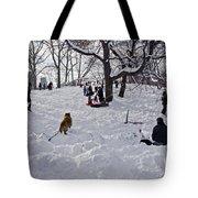 Snow Fun Tote Bag