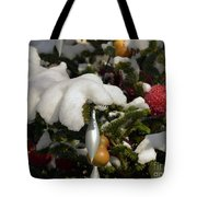 Snow Hands Tote Bag