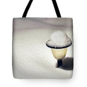 Snow Hat Tote Bag