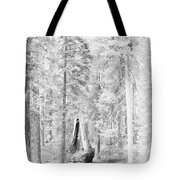 Snow Impressions Tote Bag