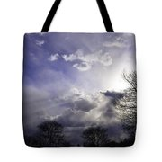 Snow Is In The Air Tote Bag