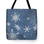 Snow Jewels Tote Bag