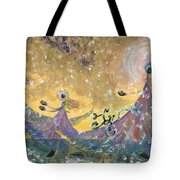 Snow Joy Tote Bag