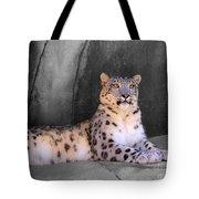 Snow Leopard II Tote Bag