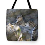 Snow Leopard    No.2 Tote Bag