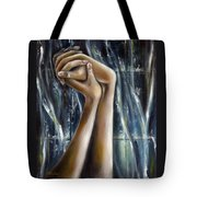 Snow Light Tote Bag