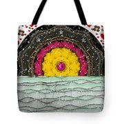Snow Love Pop Art Tote Bag