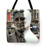 Snow Man Tote Bag