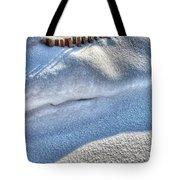 Snow Mound Tote Bag