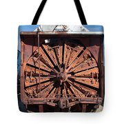 Snow Mover Tote Bag