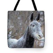 Snow Mule Tote Bag