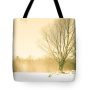 Snow Of Old Tote Bag