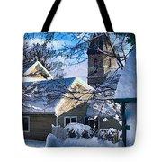 Snow On Back Alley - Shepherdstown Tote Bag