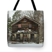 Snow On The General Store Tote Bag