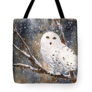 Snow Owl - Canada Tote Bag