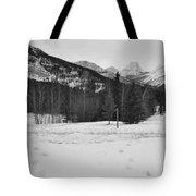 Snow Prints Tote Bag