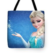 Snow Queen Elsa Frozen Tote Bag