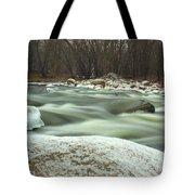 Snow Rock Tote Bag