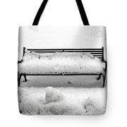 Snow Scene 8 Tote Bag by Patrick J Murphy