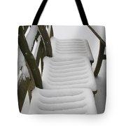 Snow Seat Tote Bag