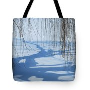 Snow Shadows I Tote Bag
