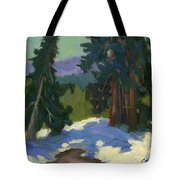 Snow Shadows Mammoth Mountain Tote Bag