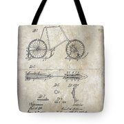 Snow Shoe Attachment For Bicycles Patent 1896 Tote Bag