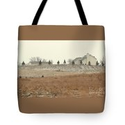 Snow-showered Tote Bag
