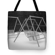 Snow Swings Tote Bag