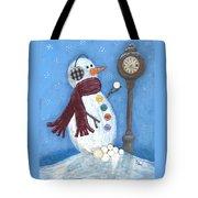 Snow Time Tote Bag